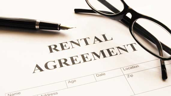 a rental contract